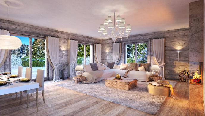 Three-bedroom apartment in St. Moritz. Click on the image to view the property.