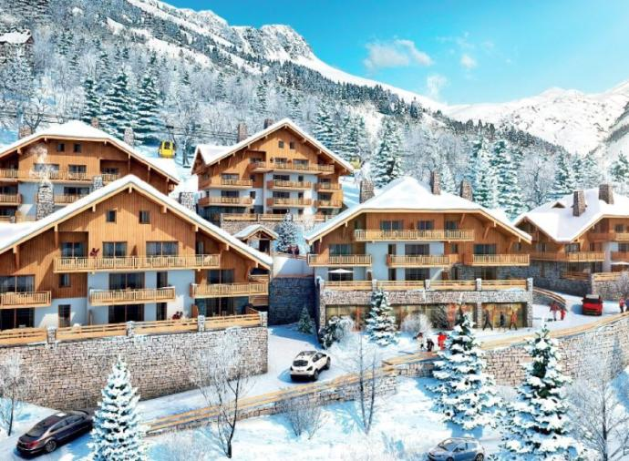 Three-bedroom duplex in Alpe d'Huez. Click on the image to view the property.