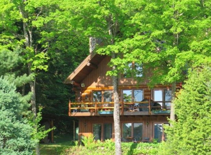 Four-bedroom home in Mont Tremblant. Click on the image to view the property.