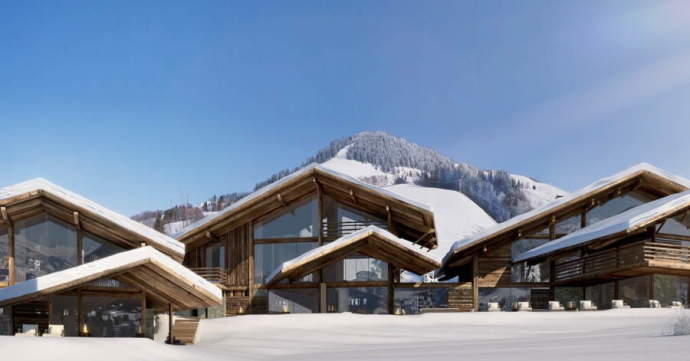 One of a kind ski Chalet in Megeve that will take your breath away