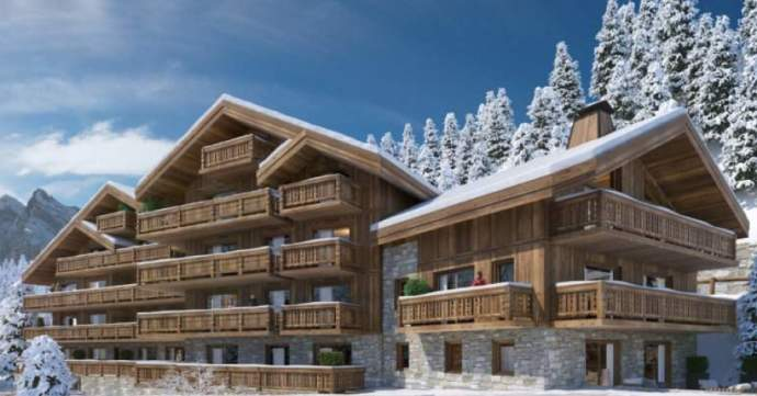 Parc Alpin is a collection of 15 high end apartments in Meribel