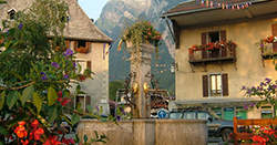 Stonemasonry, skiing and superb scenery - Samoens has potential to be a wonderful home
