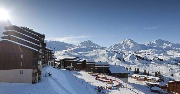 "The residence ""Le Centaure"" is located in the heart of Belle Plagne."